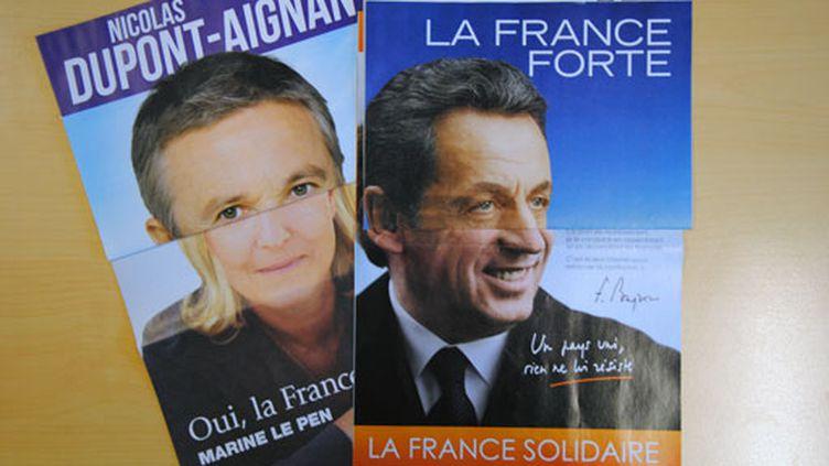 53% des Français reconnaissent Nicolas Sarkozy à son slogan (Photo JM/FTV)