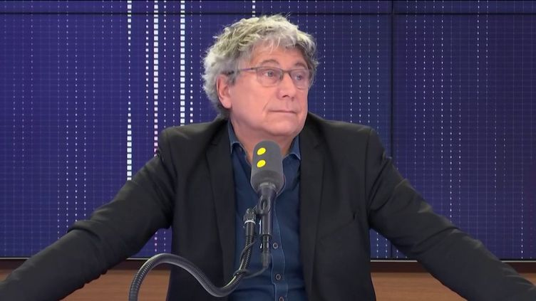 Eric Coquerel était l'invité de franceinfo lundi 23 décembre. (FRANCEINFO / RADIOFRANCE)