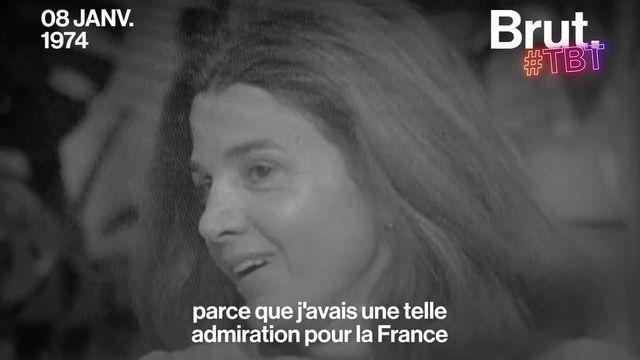 Française, tunisienne, algérienne, africaine... Quand Gisèle Halimi était questionnée sur ses origines à la télévision française. C'était en 1974.