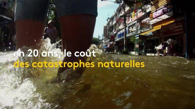 Climat : le coût des catastrophes naturelles en forte augmentation