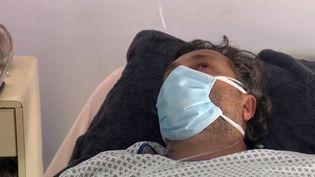 Ce touriste étranger a été admis il y a deux jours en chambre d'isolement à l'hôpital l'Archet de Nice, dans les Alpes-Maritimes. (France 3)