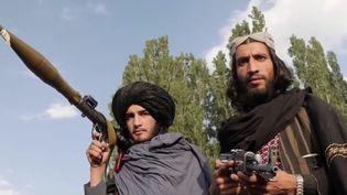 Alors que l'armée américaine n'a pas encore totalement quitté l'Afghanistan,les talibans ont lancé une offensive dans le nord du pays contre l'armée régulière, qui était soutenue par les États-Unis. (CAPTURE ECRAN FRANCE 2)