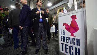 Le stand de la French Tech au Consumer Electronics Show (CES) de Las Vegas, le 6 janvier 2017. (FREDERIC J. BROWN / AFP)