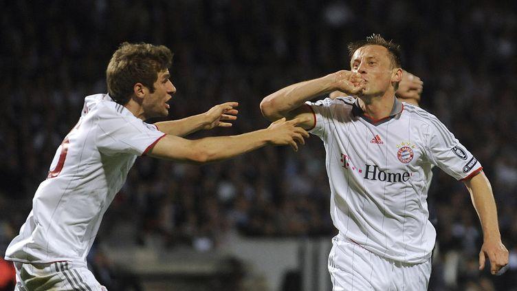 Ivica Olic célèbre un but contre Lyon (OLIVER LANG / DDP)