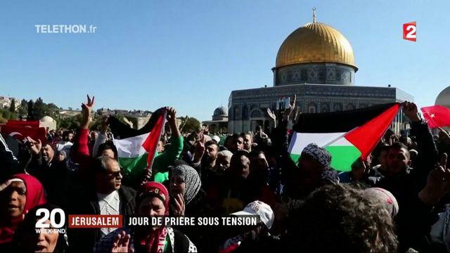 Jérusalem : une journée de prière sous tension