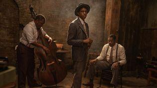 """Chadwick Boseman dans """"Ma Rainey"""", sur Netflix le 18 décembre. (NETFLIX)"""