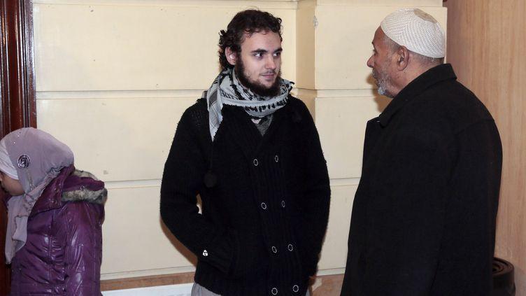 Mickaël Khiri s'était violemment opposé au contrôle d'identité de son épouse, le 18 juillet 2013 à Trappes (Yvelines). (JACQUES DEMARTHON / AFP)