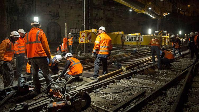 (Selon les équipes chargées de l'entretien, l'état général des infrastructures devrait encore se dégrader d'ici 2020  © MaxPPP)