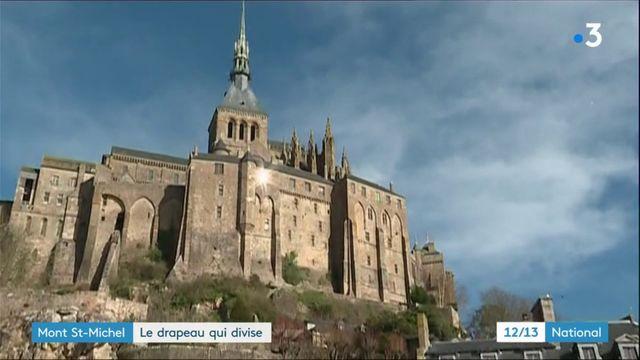 Mont-Saint-Michel : le drapeau qui divise