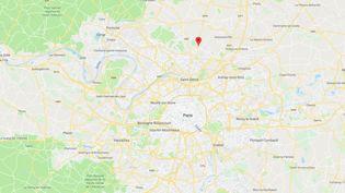 Villiers-le-Bel (Val-d'Oise). (GOOGLE MAPS / FRANCEINFO)