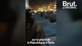 VIDEO. Évacuation violente d'un camp de réfugiés à Paris : Rémy Buisine raconte heure par heure (BRUT)