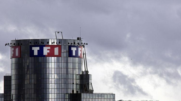 TF1 a obtenu l'une des six chaînes de la TNT attribuées en mars 2012. La petite nouvelle s'appellera HD1. (JOEL SAGET / AFP)