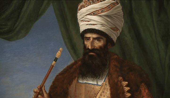 Tableau de la dynastie des Qajars exposé au Louvre-Lens  (France 3)