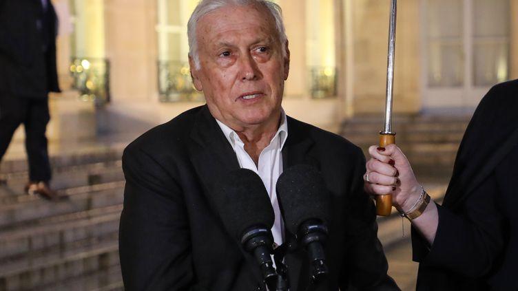 Jean-François Delfraissy le 5 mars 2020. (LUDOVIC MARIN / AFP)