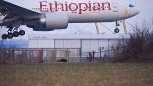 Un avion de la compagnie Ethiopian Airlines. (JEAN-LUC FLEMAL / MAXPPP)