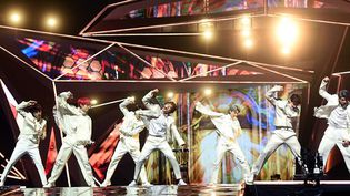 Le groupe de K-pop BTS  (moreforms / Imaginechina)