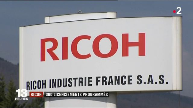 Ricoh : 360 licenciements programmés en France