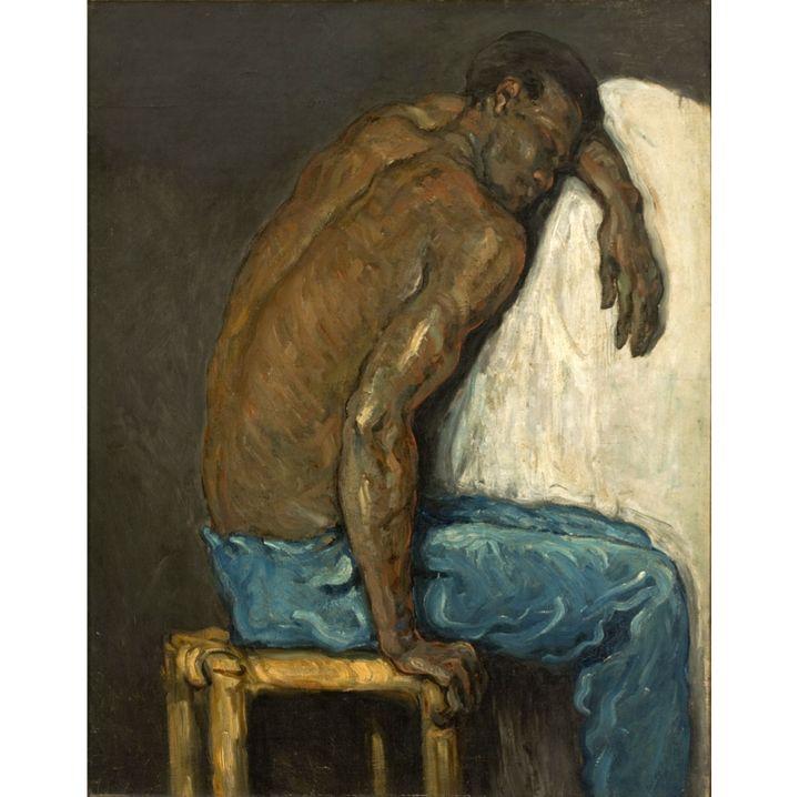 "Paul Cézanne, ""Le Nègre Scipion"", vers 1867, São Paulo Assis Chateaubriand. Don Henryk Spitzman-Jordan, Drault Ernanny de Mello et Silva, Pedro Luiz Correia e Castro et Rui de Almeida, 1950  (João Musa)"
