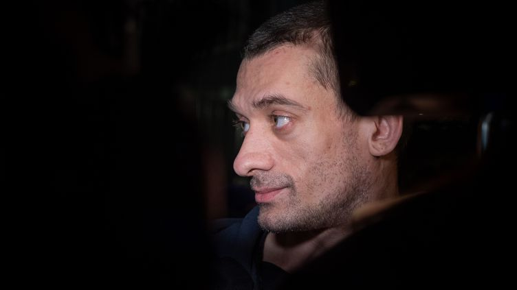 L'activiste russe Piotr Pavlenski, à Paris, le 18février 2020. (CARINE SCHMITT / HANS LUCAS)