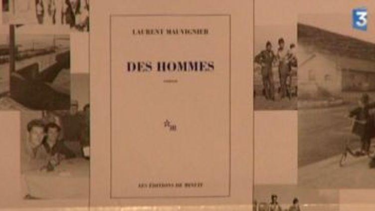 """""""Des hommes"""" le 7ème roman de Laurent Mauvignier  (Culturebox)"""