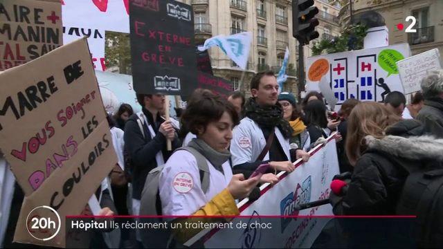 Hôpital : les professionnels de santé réclament un traitement de choc