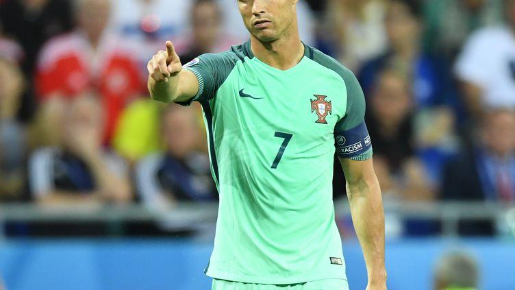 La star du Portugal, Cristiano Ronaldo (MUSTAFA YALCIN / ANADOLU AGENCY)