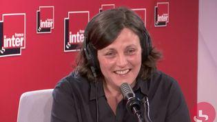 Anne Pauly, invitée de France Inter lundi 8 juin 2020. (FRANCE INTER / RADIO FRANCE)
