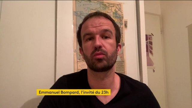 """Coronavirus : """"L'état d'urgence sanitaire vise à mettre entre parenthèses la démocratie"""", dénonce Manuel Bompard (LFI)"""