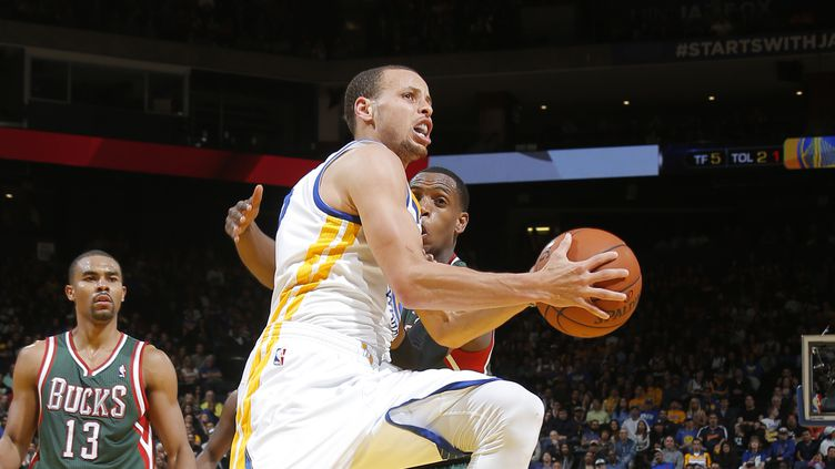 Stephen Curry (ROCKY WIDNER / NBAE / GETTY IMAGES)