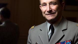 Le général Pierre de Villiers, le 17 janvier 2014, à l'époque de son entrée en fonction à la tête de l'état-major des armées. (JOEL SAGET / AFP)