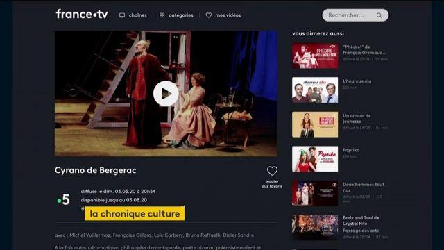 Du théâtre et de l'humour sur france.tv, du disco avec la Sacem