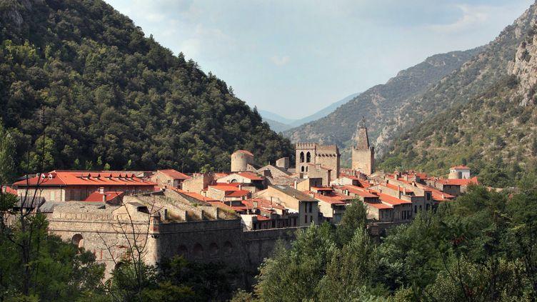 Villefranche-de-Conflent (Pyrénées-Orientales), cité médiévale du 11e siècle, trésor du patrimoine français (2019) (MANUEL COHEN / MANUEL COHEN / AFP)