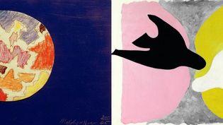"""""""La Genèse de la Genèse illustrée par l'abtstraction"""" avec, entre autres, les peintres Lázló Moholy-Nagy et Georges Braque (Diane de Selliers)"""