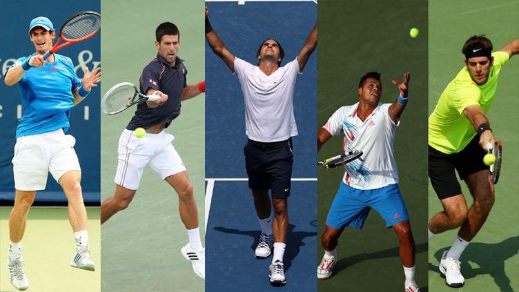 L'US Open débute lundi à New-York. Il devrait se jouer entre ces cinq là