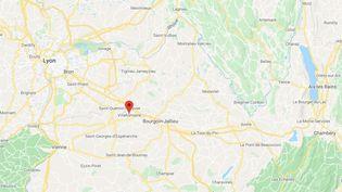 Villefontaine (Isère). (GOOGLE MAPS)