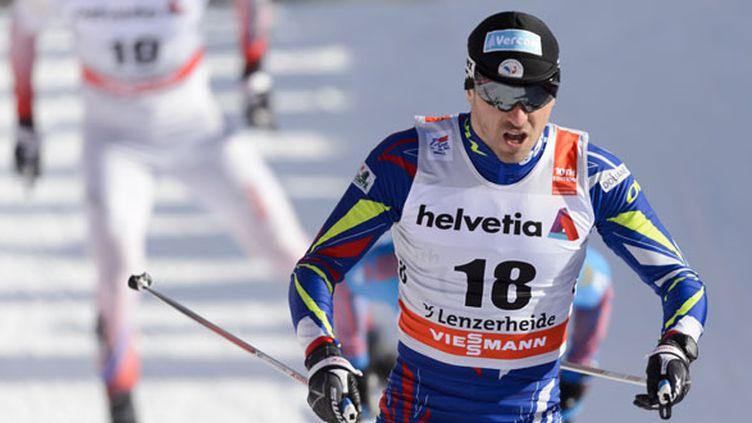 Le skieur tricolore Maurice Manificat