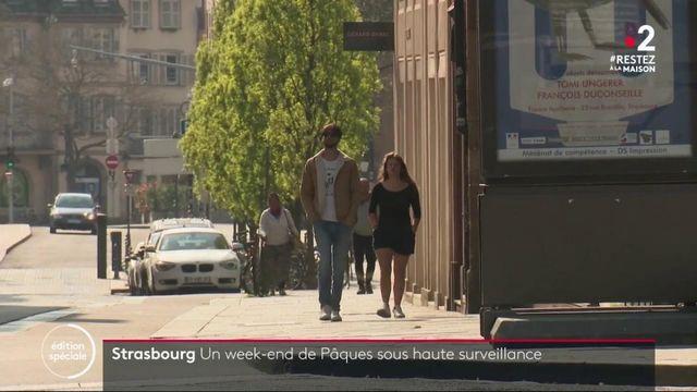 Strasbourg : un week-end de Pâques sous haute surveillance