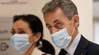 L'ancien chef de l'Etat, Nicolas Sarkozy, le 10 décembre 2020 à Paris. (BERTRAND GUAY / AFP)
