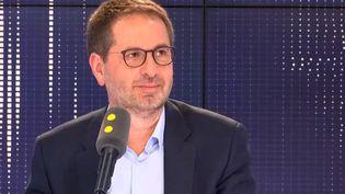 Jérôme Fenoglio, directeur du journal Le Monde, sur franceinfo mercredi 29 mai 2019. (FRANCEINFO / RADIOFRANCE)