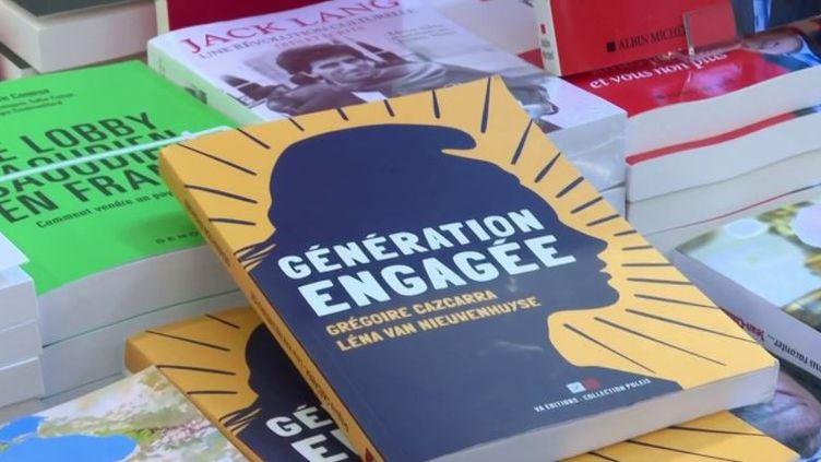 Livres : un essai pour comprendre les nouveaux modes d'engagement des jeunes (FRANCE 3)