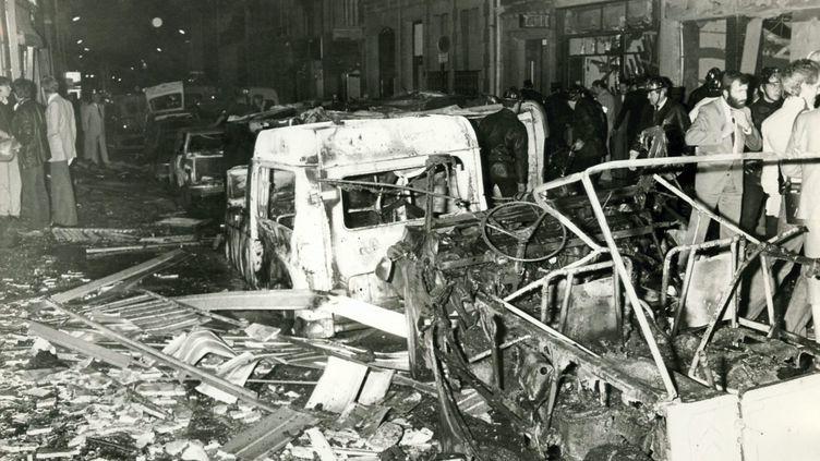 Attentat de la rue Copernic, 3 octobre 1980. (MAXPPP)