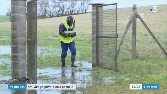 Yonne : un village privé d'eau potable à cause des pesticides