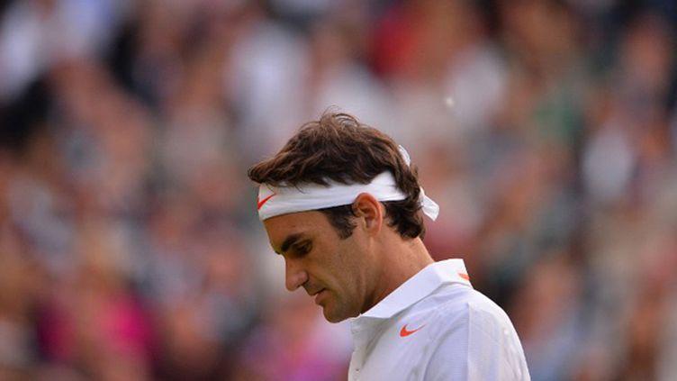 Roger Federer (CARL COURT / AFP)