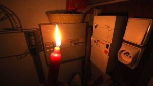 Coupure d'électricité (photo d'illustration) (PHILIPPE ARNASSAN / MAXPPP)