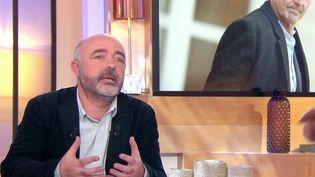 """Capture écran de l'émission """"C à vous"""", sur France 5, jeudi 8 février 2018. (FRANCE 5)"""