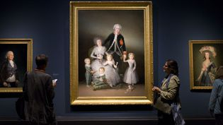 """La Famille du duc d'Osuna"", Goya  (Justin Tallis / AFP)"