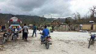 Après le passage de l'ouragan Matthew les habitants sont complétement démunis (Grégoire Lecalot)