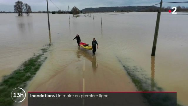 Inondations : les maires des communes en première ligne