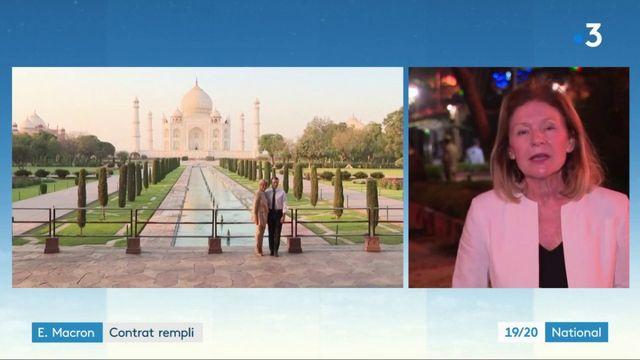 Emmanuel Macron en Inde : contrat rempli