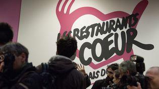 Les Restos du cœur pour les nécessiteux à Paris le 24 Novembre 2014. (CITIZENSIDE / YANN KORBI / AFP)